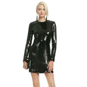Diane Von Furstenberg Menaro sequined mini dress
